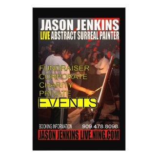 JASON JENKINS LIVE EVENTS FLYER DESIGN