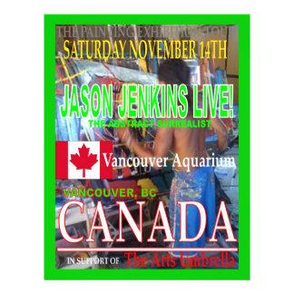 JASON JENKINS LIVE IN CANADA CUSTOM FLYER