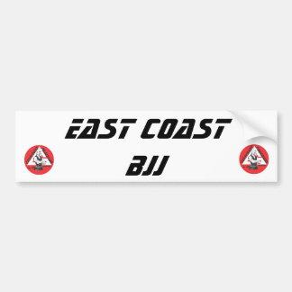 Jason logo1.ai, Jason logo1.ai, EAST COAST BJJ Bumper Sticker