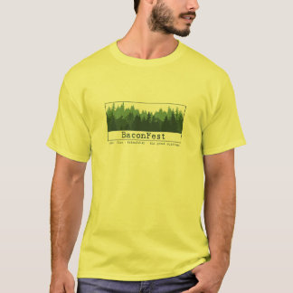 Jason - Short Sleeve Trees Yellow L T-Shirt