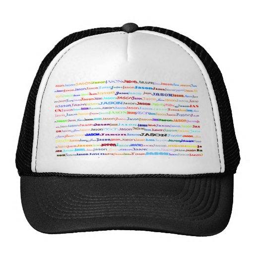 Jason Text Design II Hat