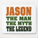 Jason - the Man, the Myth, the Legend! Mouse Pad