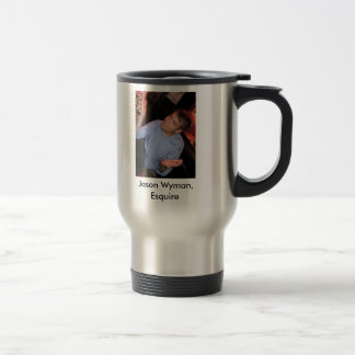 Jason Wyman, Esquire Travel Mug