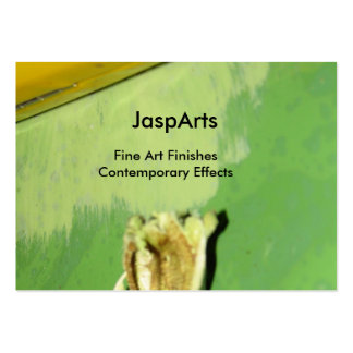 JaspArts Green Business Card Template