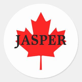 JASPER CLASSIC ROUND STICKER