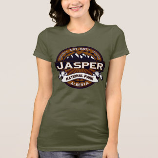 Jasper National Park Logo T-Shirt