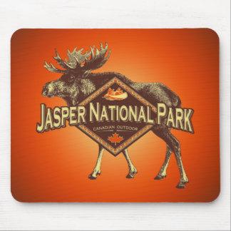 Jasper National Park Moose Mouse Mat