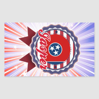 Jasper TN Rectangular Stickers