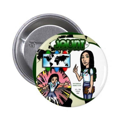 Jaunt Button Pin