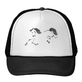 Jaunt - Horse Sumi-e Painting Hats