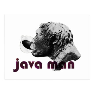 Java Clay Man Postcard