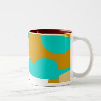 JAVA DECCO MODERNIST OO1 COFFEE MUGS