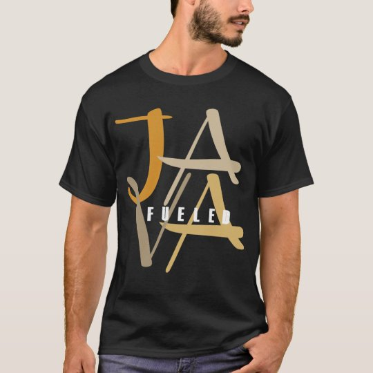Java Fuelled Basic Dark T-Shirt