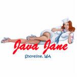 Java Jane Key Chain Cut Outs