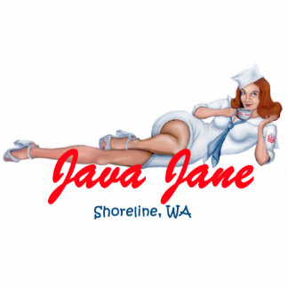 Java Jane Key Chain Cut Outs