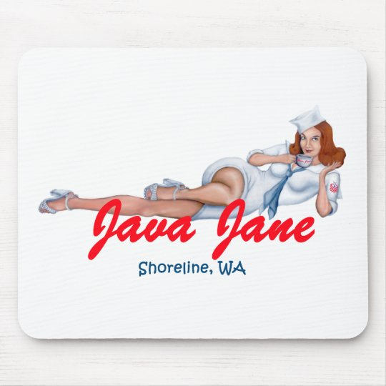 Java Jane Mouse Pad