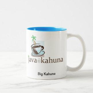 Java Kahuna - Big Kahuna Two-Tone Mug