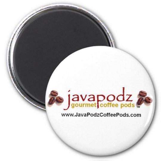 Java Podz Round Magnet