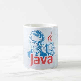 Java Programmer Basic White Mug