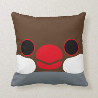 Java sparrow Agate Pillow