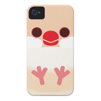 Java sparrow Cream Case-Mate iPhone 4 Cases