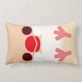 Java sparrow Cream Throw Pillows