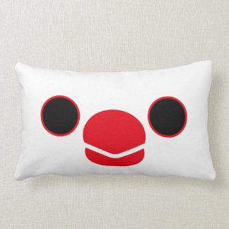 Java sparrow White Throw Pillows