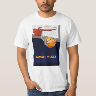JaVale McGee Basketball T-Shirt