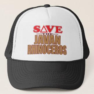Javan Rhino Save Trucker Hat