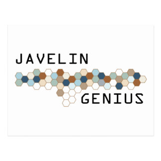 Javelin Genius Postcard