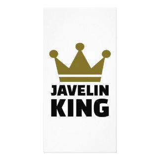 Javelin King Customized Photo Card