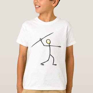 Javelin Stick Figure T-shirts and Gifts.