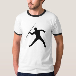 Javelin Throw Silhouette T-Shirt