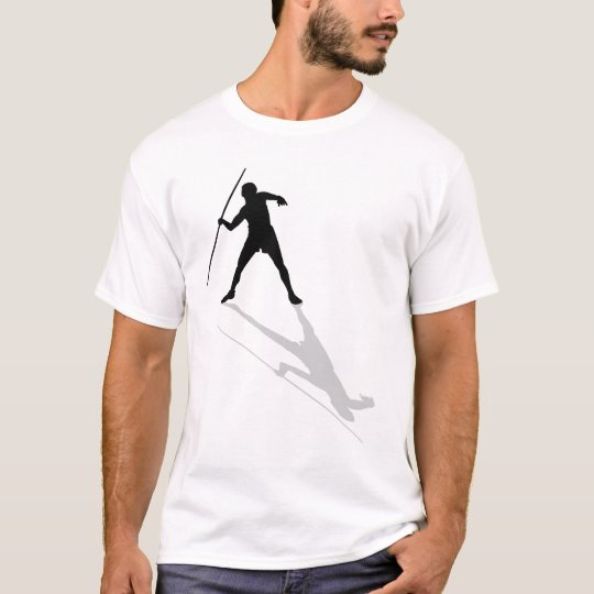 Javelin throw track and field mens athlete sports T-Shirt
