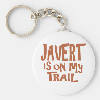 Javert is on my Trail Basic Round Button Key Ring