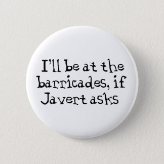 Javert Les Miserables 6 Cm Round Badge