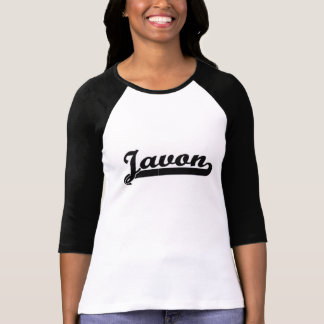 Javon Classic Retro Name Design Tshirts