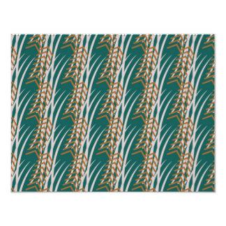 Jaws Pattern 11 Cm X 14 Cm Invitation Card