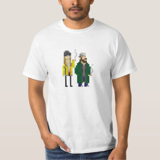 Jay and Silent Bob - Kevin Smith - Pixel Art T-Shirt