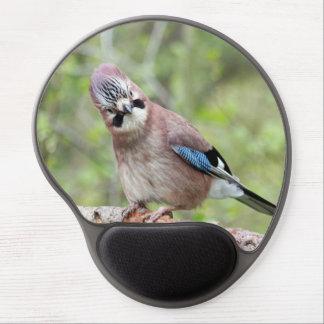 Jay bird wildlife photograph gel mouse mat