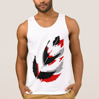 Jay Niani Custom Feather -Black and Red