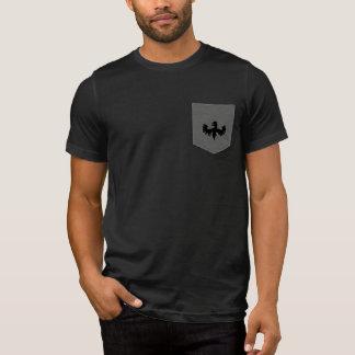 Jay Niani Griffin Pocket Logo - Black T-Shirt