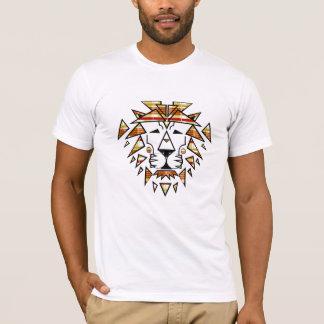 Jay Niani - Shredded Lion - Fall Plaid - Centre T-Shirt