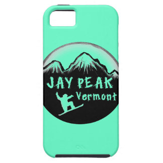 Jay Peak Vermont artistic skier iPhone 5 Cases