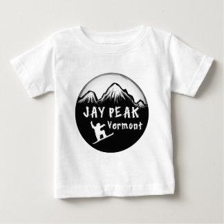 Jay Peak Vermont artistic skier Shirts