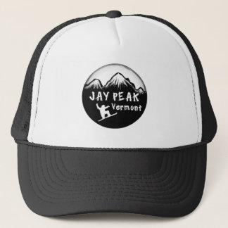 Jay Peak Vermont artistic skier Trucker Hat