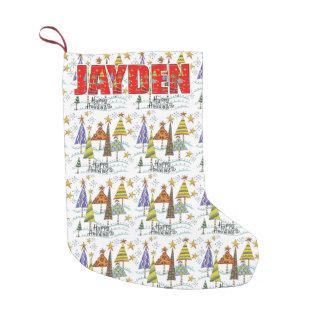 Jayden Christmas Holiday Stocking