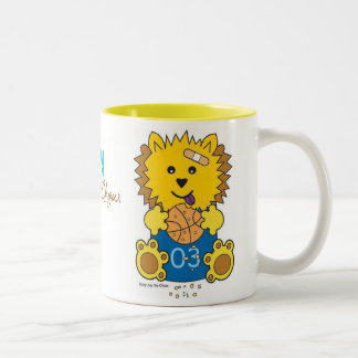 JayJay the Chow Two-Tone Coffee Mug