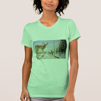 Jay's Peak, White Tail Deer Tshirts