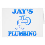Jay's Plumbing Greeting Card